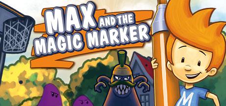 Max and the Magic Marker Icon