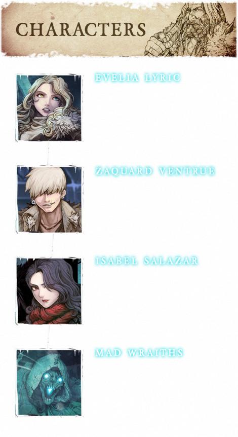 vambrace cold soul characters description  MAI2019