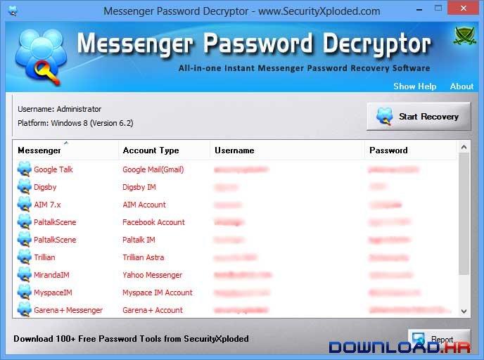 Messenger Password Decryptor  Featured Image